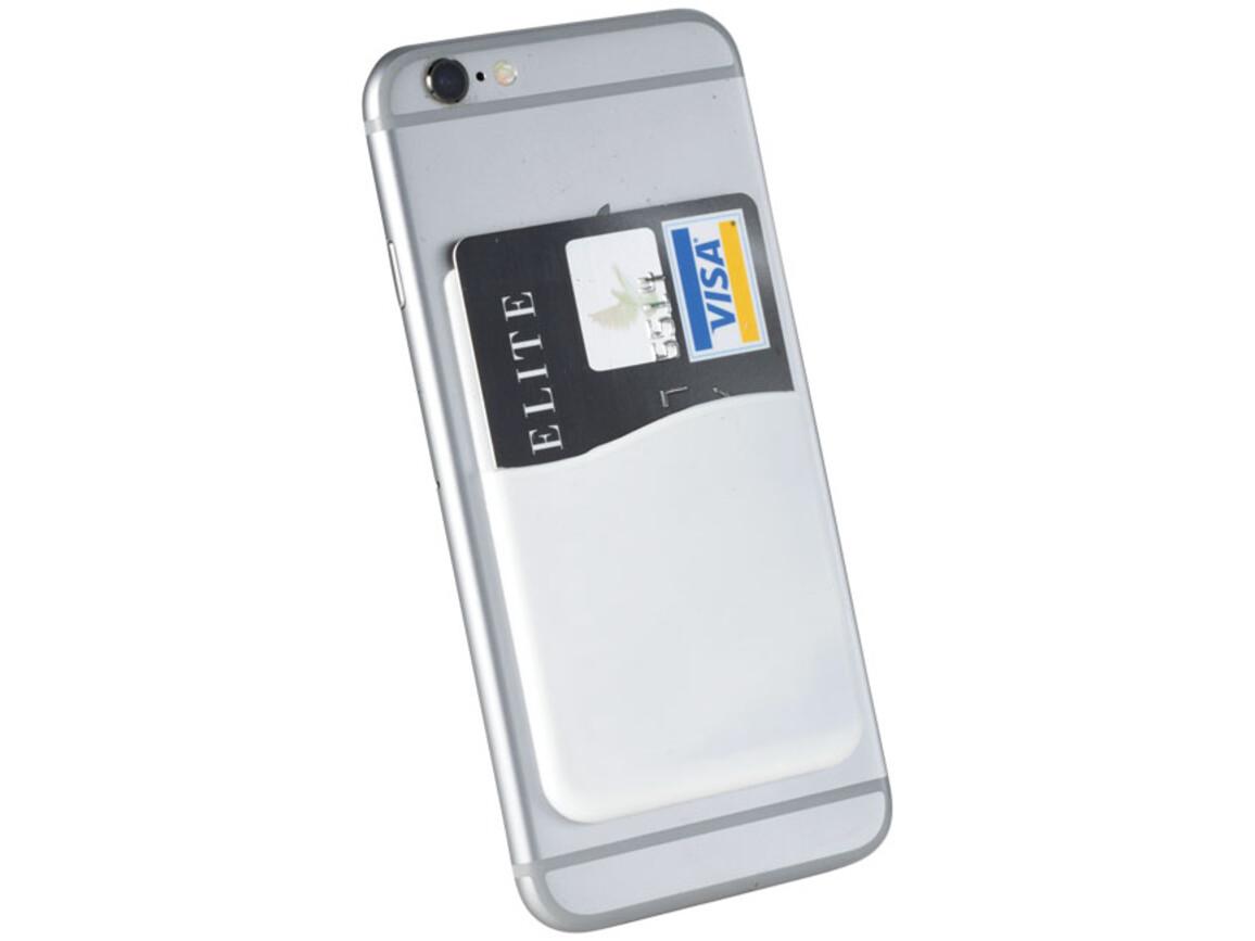 Slim Kartenhüllen-Zubehör für Smartphones, weiss bedrucken, Art.-Nr. 13421901
