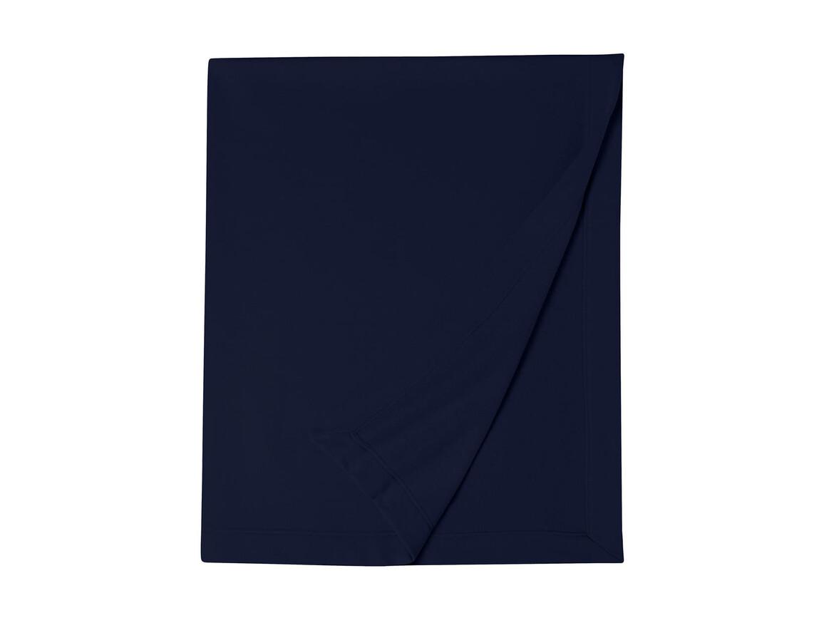 Gildan Gildan DryBlend® Fleece Stadium Blanket, Navy, One Size bedrucken, Art.-Nr. 001092000