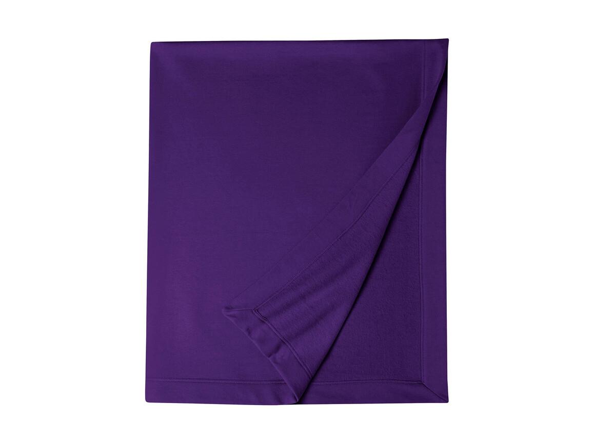 Gildan Gildan DryBlend® Fleece Stadium Blanket, Purple, One Size bedrucken, Art.-Nr. 001093490