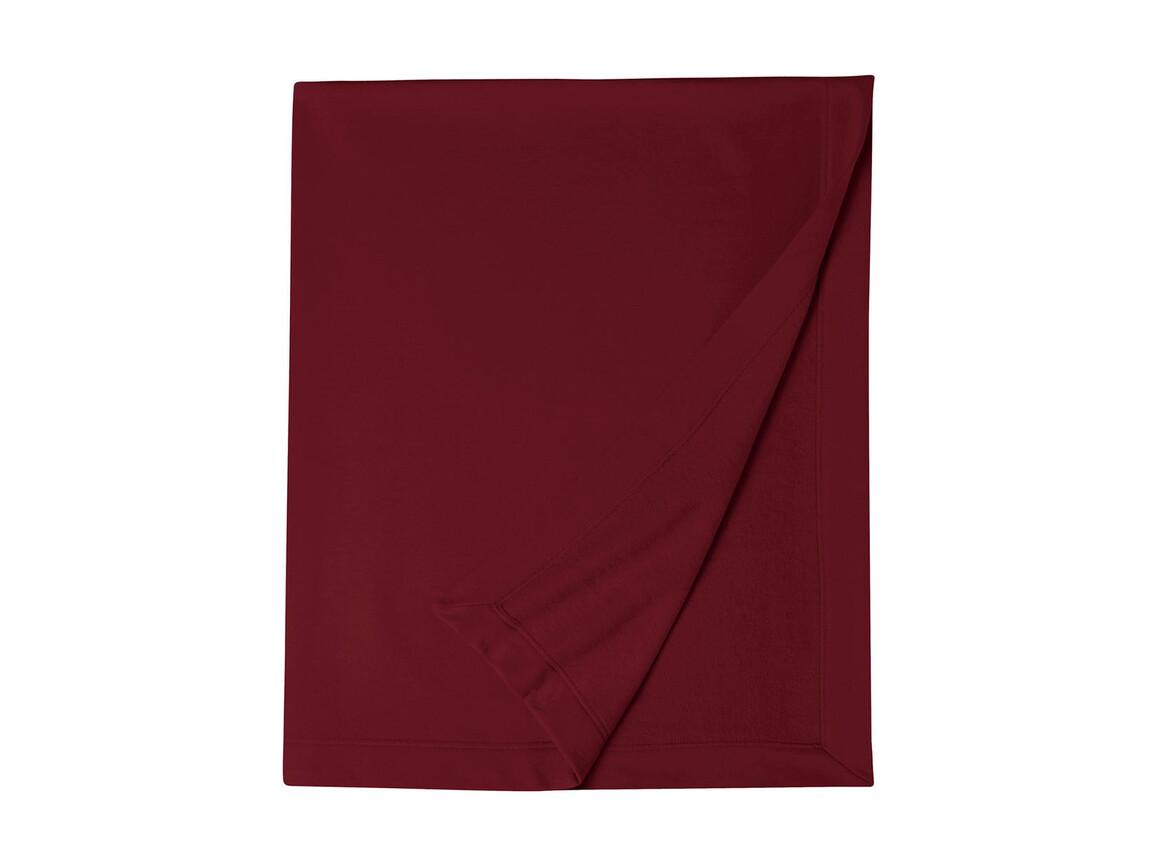 Gildan Gildan DryBlend® Fleece Stadium Blanket, Garnet, One Size bedrucken, Art.-Nr. 001094750