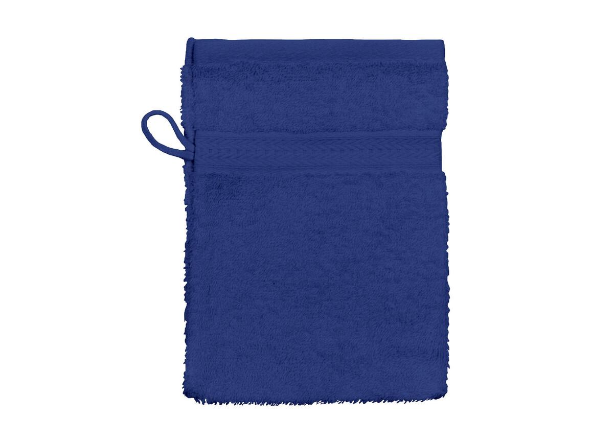 Jassz Towels Rhine Wash Glove 16x22 cm, Navy, One Size bedrucken, Art.-Nr. 002642000