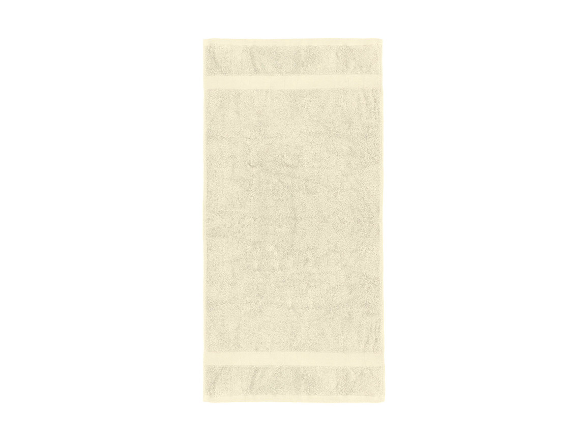 Jassz Towels Seine Hand Towel 50x100 cm, Ecru, One Size bedrucken, Art.-Nr. 003640050