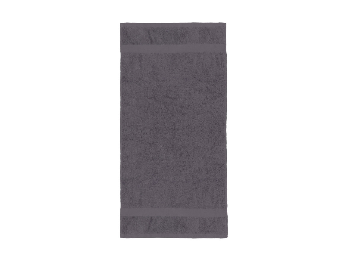 Jassz Towels Seine Hand Towel 50x100 cm, Grey, One Size bedrucken, Art.-Nr. 003641210