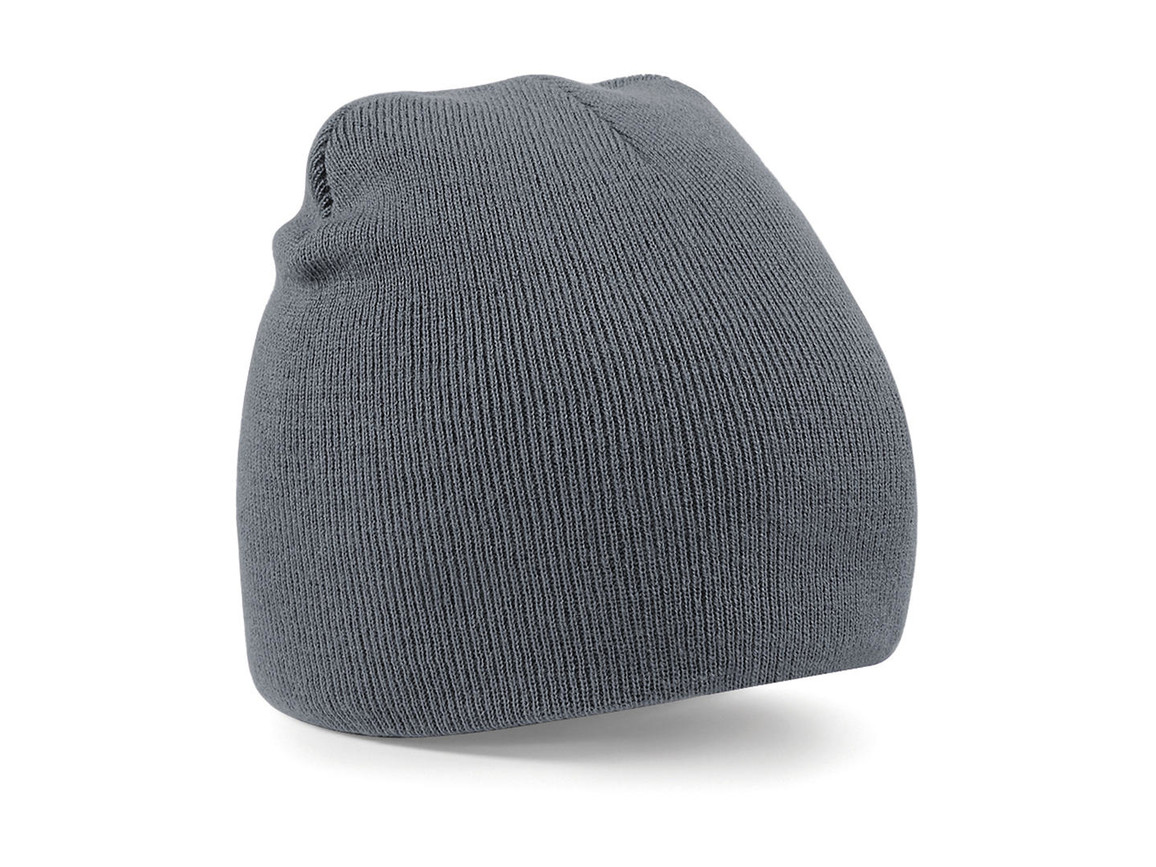 Beechfield Original Pull-On Beanie, Graphite Grey, One Size bedrucken, Art.-Nr. 003691310