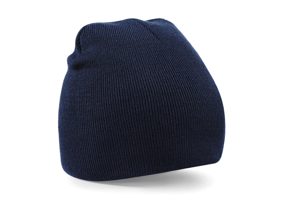 Beechfield Original Pull-On Beanie, French Navy, One Size bedrucken, Art.-Nr. 003692010