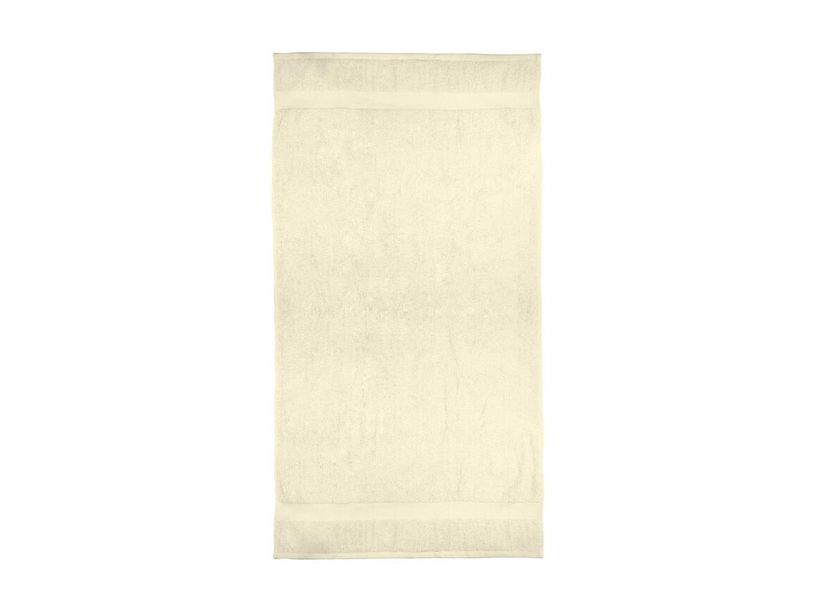 Jassz Towels Seine Bath Towel 70x140cm, Ecru, One Size bedrucken, Art.-Nr. 004640050