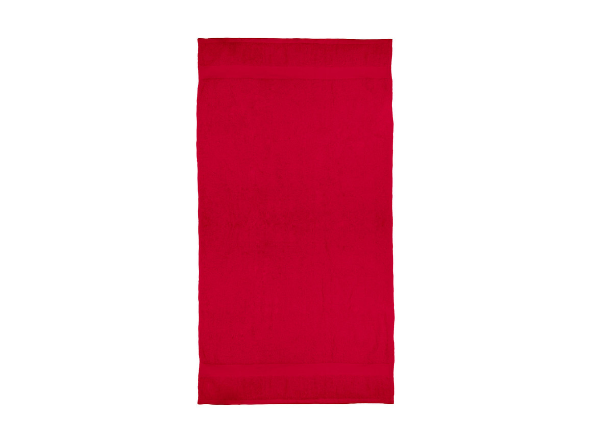 Jassz Towels Seine Bath Towel 70x140cm, Red, One Size bedrucken, Art.-Nr. 004644000