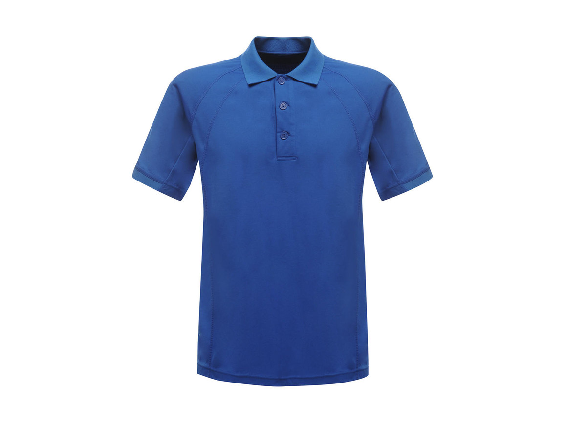 Regatta Coolweave Wicking Polo, Oxford Blue, XS bedrucken, Art.-Nr. 005173262
