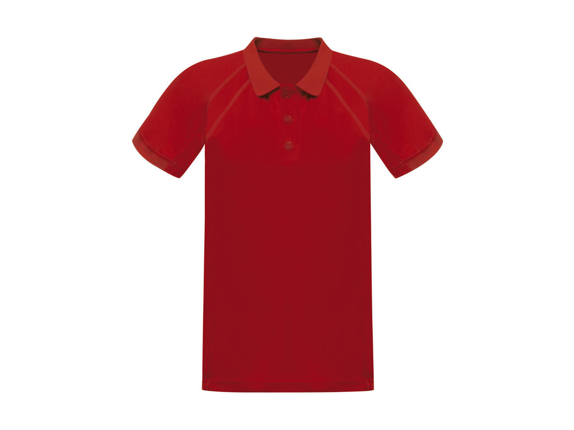 Regatta Coolweave Wicking Polo, Classic Red, XS bedrucken, Art.-Nr. 005174012