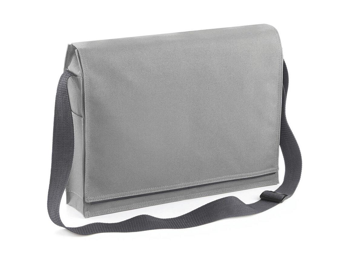 Bag Base Conference Messenger, Light Grey, One Size bedrucken, Art.-Nr. 005291380