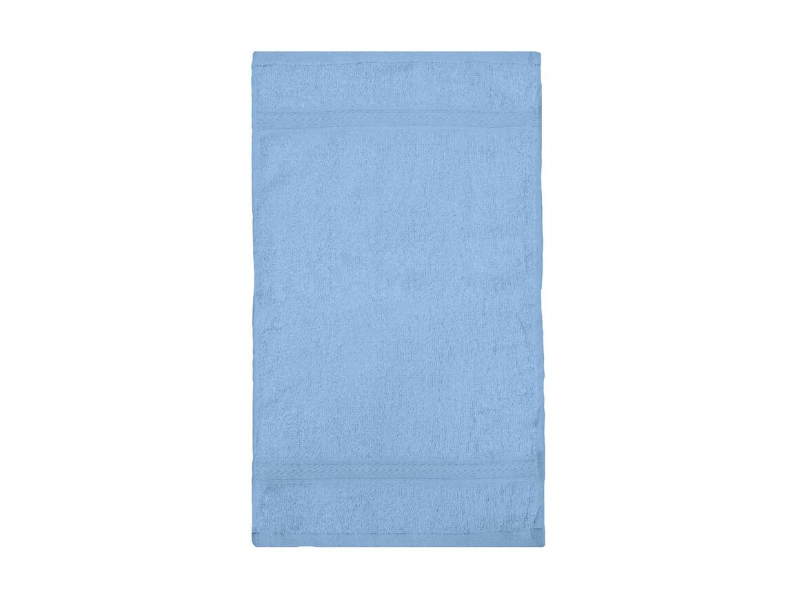 Jassz Towels Rhine Guest Towel 30x50 cm, Light Blue, One Size bedrucken, Art.-Nr. 009643210