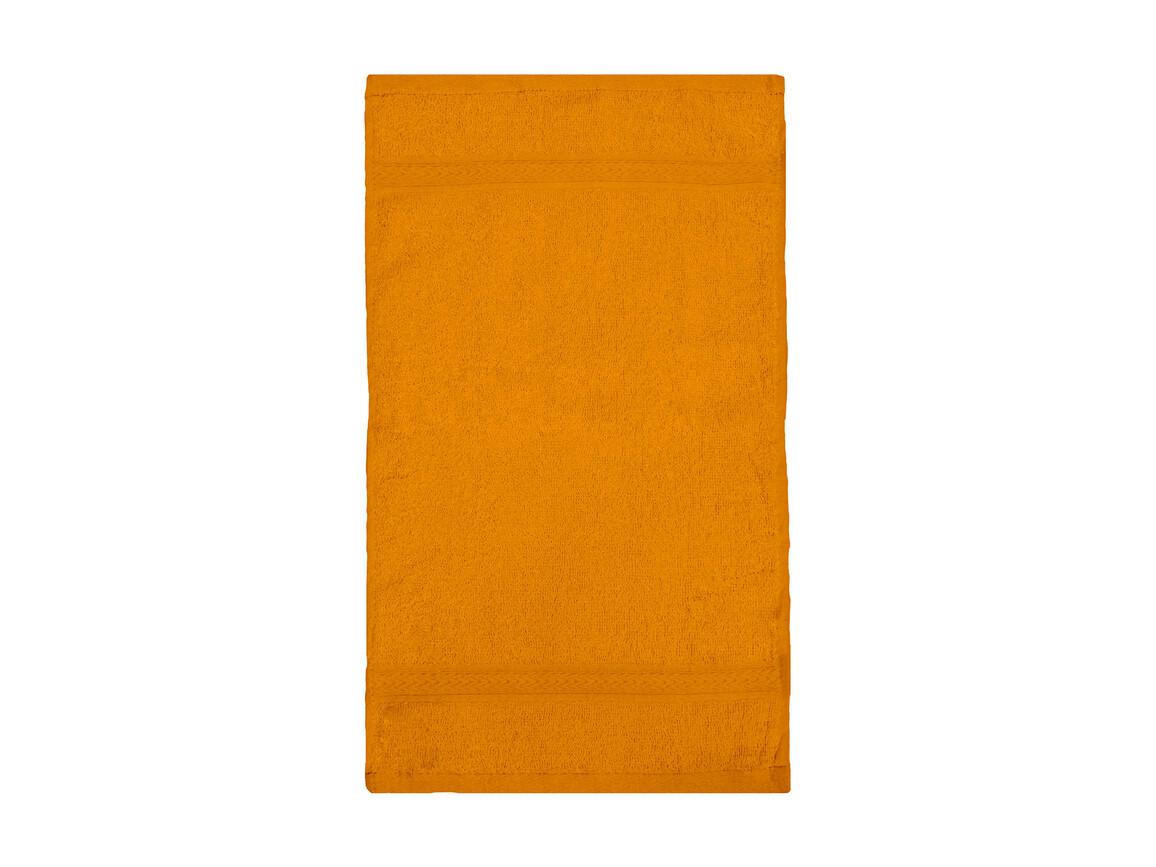 Jassz Towels Rhine Guest Towel 30x50 cm, Orange, One Size bedrucken, Art.-Nr. 009644100