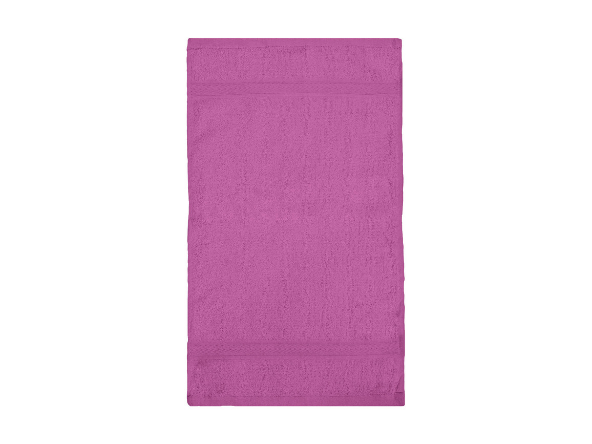 Jassz Towels Rhine Guest Towel 30x50 cm, Fuchsia, One Size bedrucken, Art.-Nr. 009644390