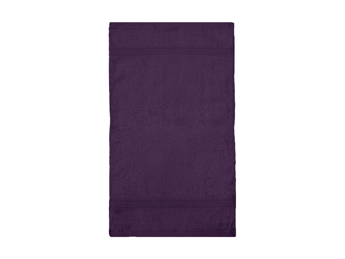 Jassz Towels Rhine Guest Towel 30x50 cm, Aubergine, One Size bedrucken, Art.-Nr. 009644440