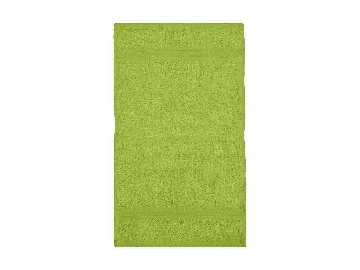 Jassz Towels Rhine Guest Towel 30x50 cm, Bright Green, One Size bedrucken, Art.-Nr. 009645080