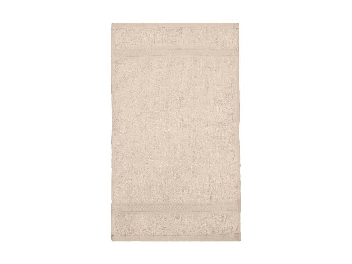 Jassz Towels Rhine Guest Towel 30x50 cm, Sand, One Size bedrucken, Art.-Nr. 009647410