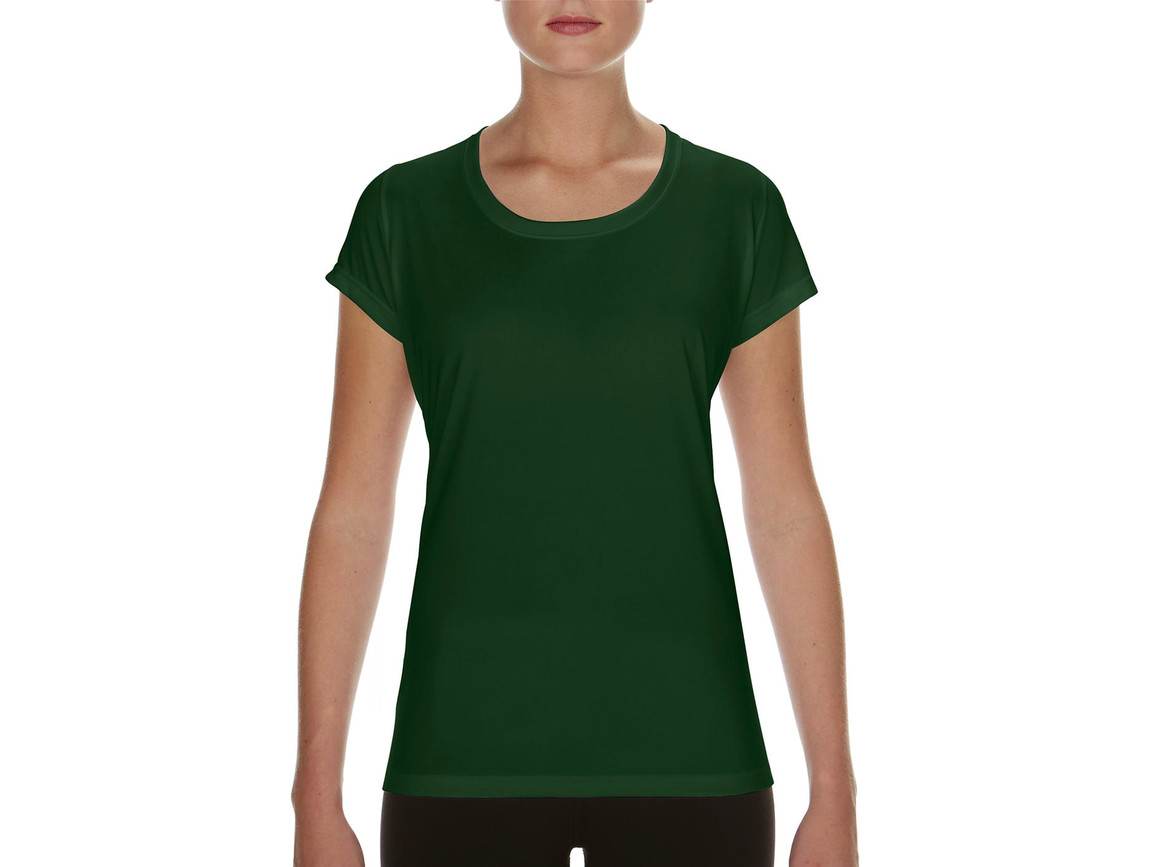 Gildan Performance Ladies` Core T-Shirt, Sport Dark Green, S bedrucken, Art.-Nr. 010095083