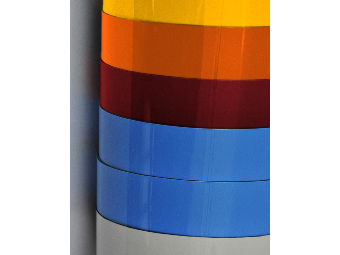 Poli-Tape FlexClassic Blockout, Orange, 10 m bedrucken, Art.-Nr. 010264102