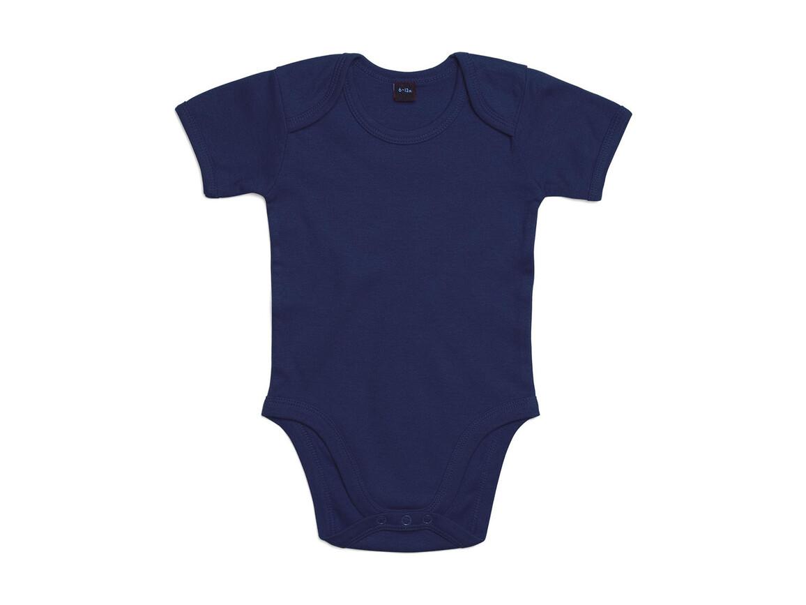 BabyBugz Baby Bodysuit, Nautical Navy, 6-12 bedrucken, Art.-Nr. 010472013