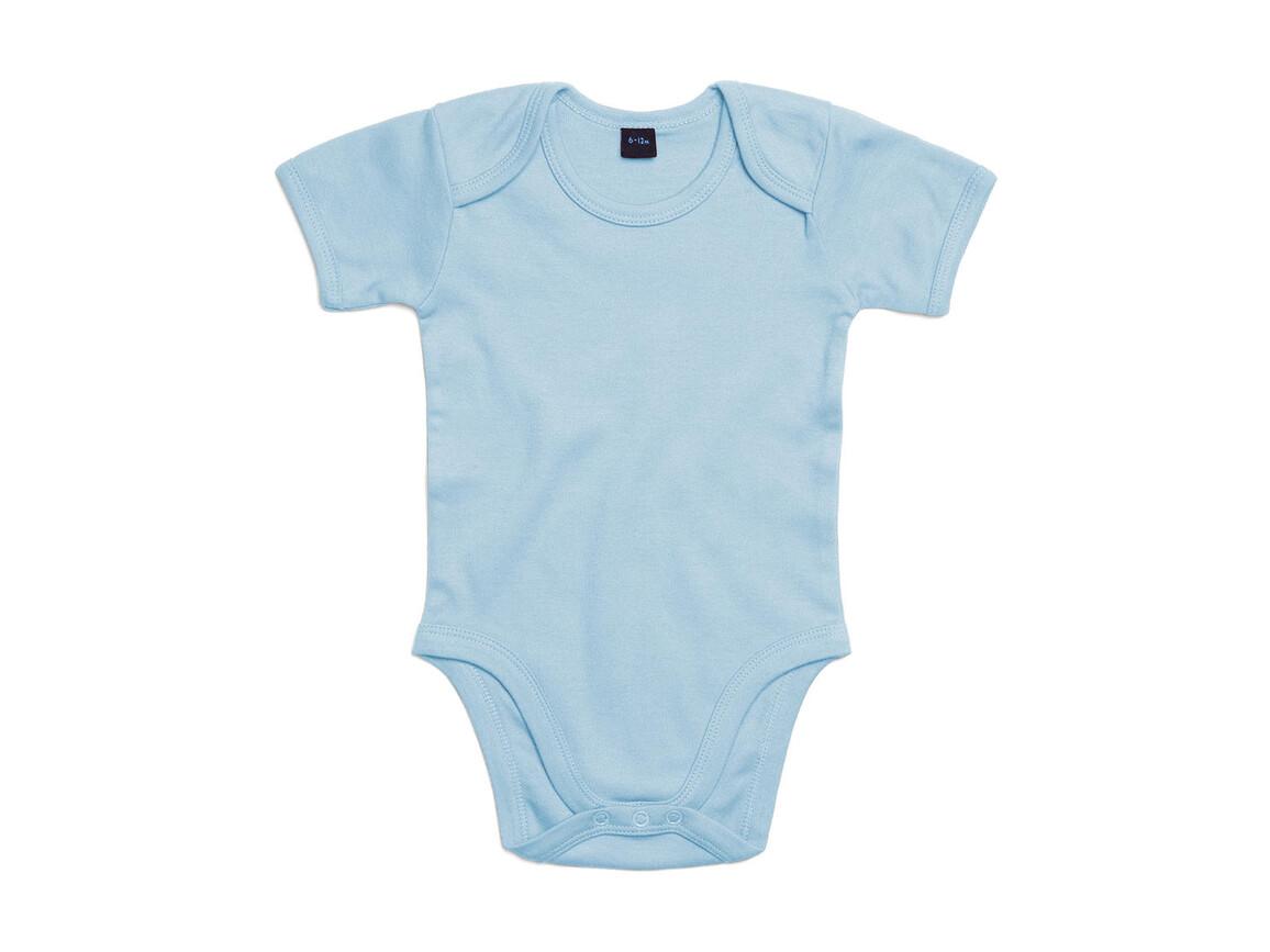 BabyBugz Baby Bodysuit, Dusty Blue, 12-18 bedrucken, Art.-Nr. 010473114