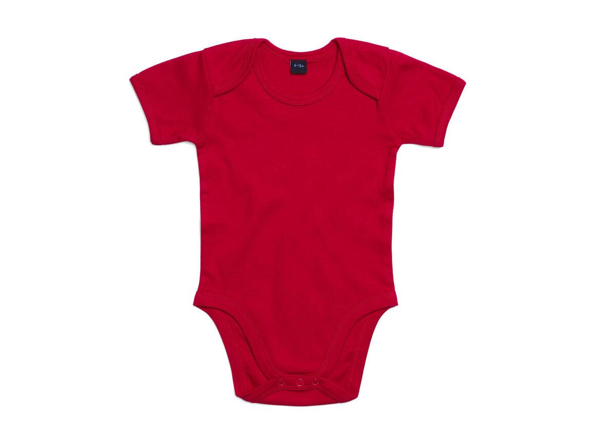 BabyBugz Baby Bodysuit, Red, 0-3 bedrucken, Art.-Nr. 010474001