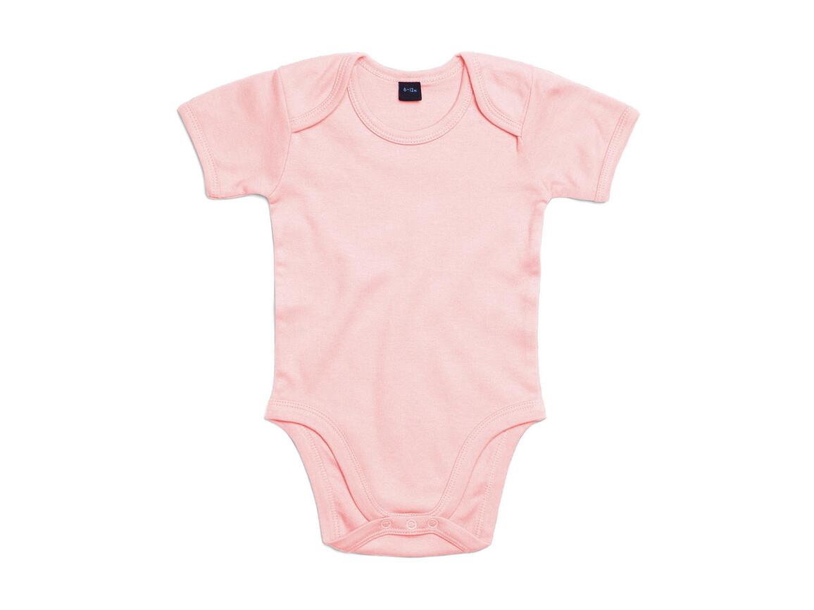 BabyBugz Baby Bodysuit, Powder Pink, 12-18 bedrucken, Art.-Nr. 010474174