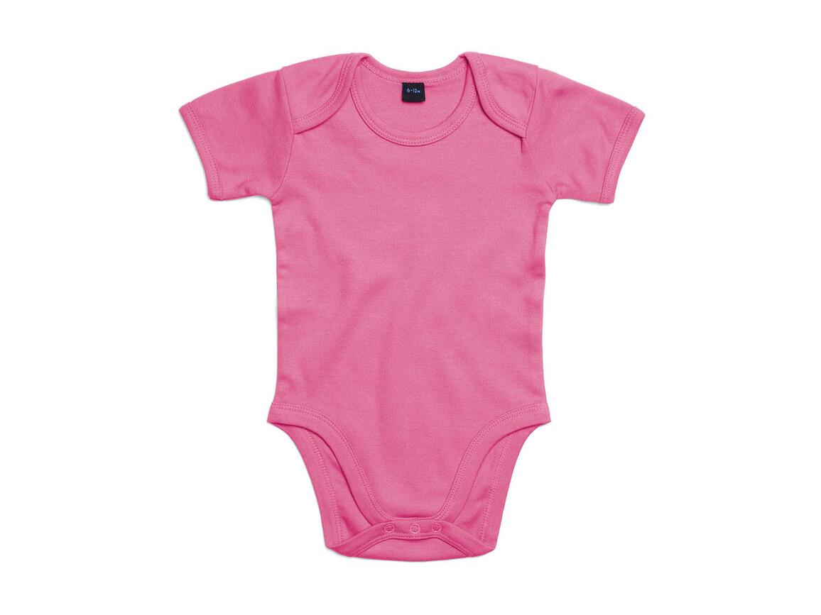 BabyBugz Baby Bodysuit, Bubble Gum Pink, 12-18 bedrucken, Art.-Nr. 010474224