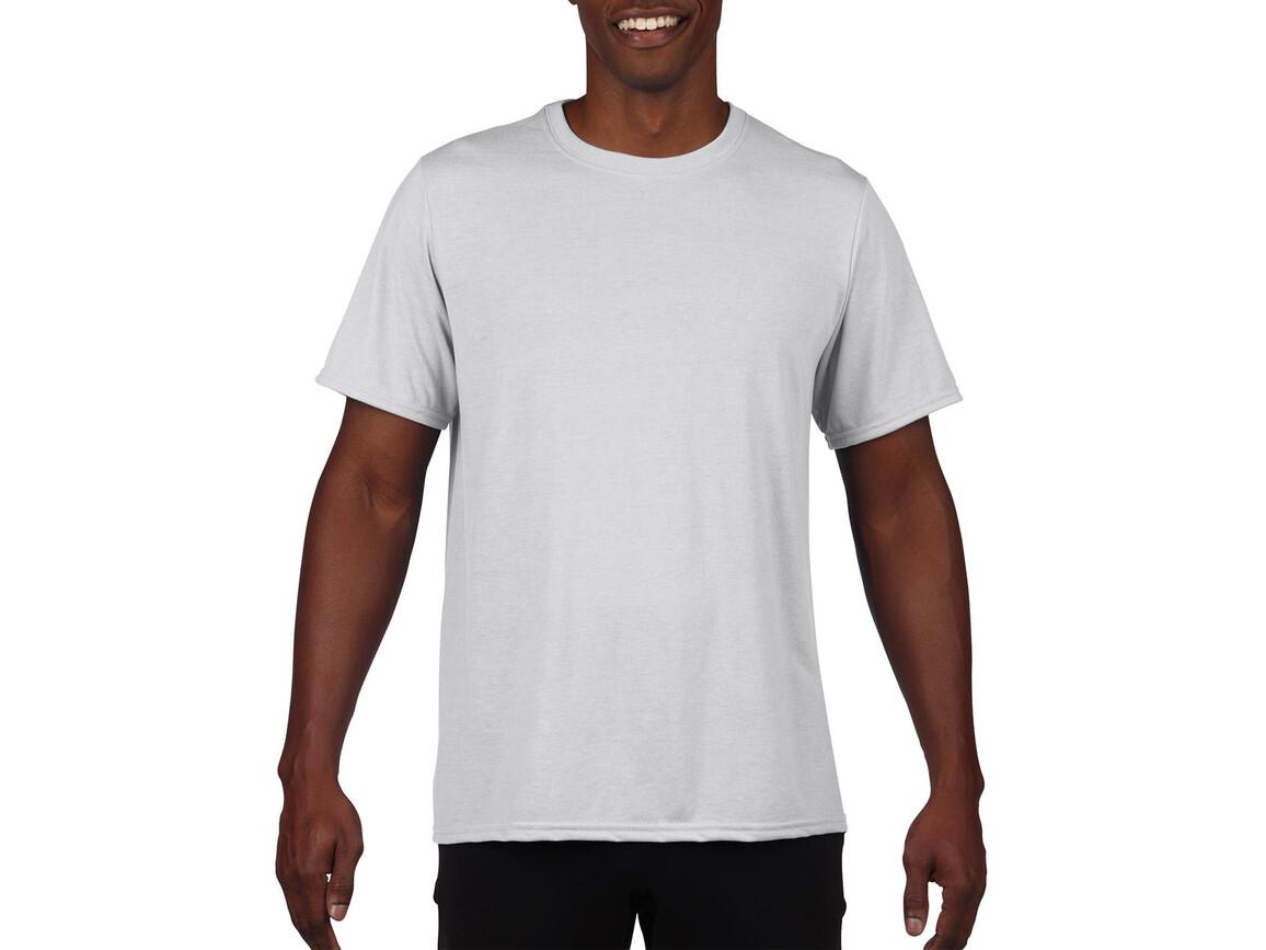 Gildan Performance Adult Core T-Shirt, White, M bedrucken, Art.-Nr. 011090004