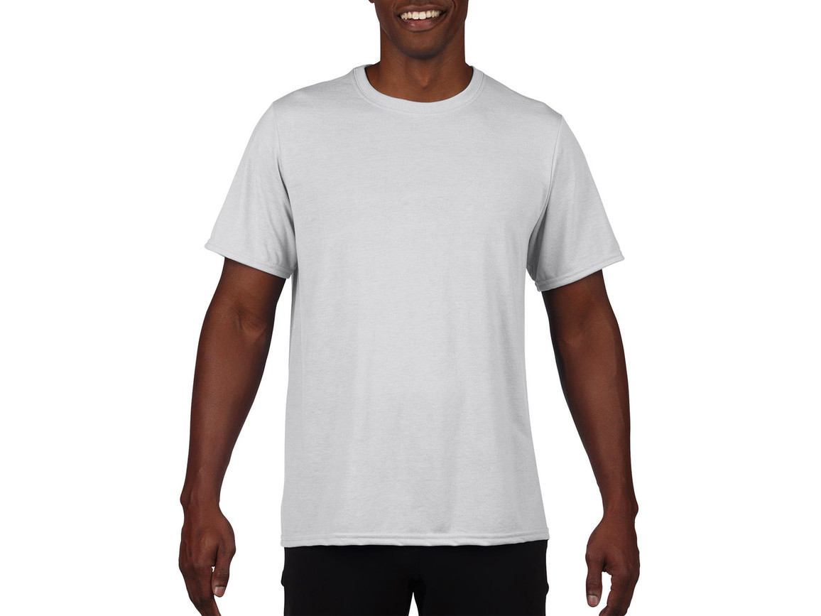 Gildan Performance Adult Core T-Shirt, White, L bedrucken, Art.-Nr. 011090005