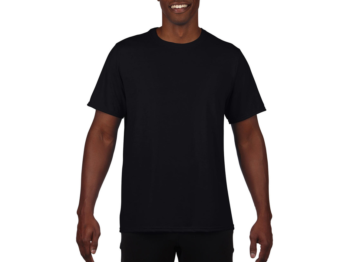 Gildan Performance Adult Core T-Shirt, Black, 2XL bedrucken, Art.-Nr. 011091017