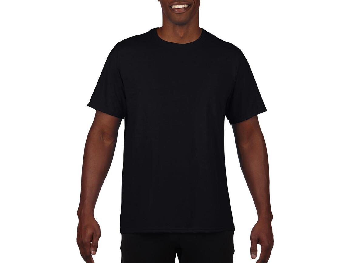 Gildan Performance Adult Core T-Shirt, Black, XL bedrucken, Art.-Nr. 011091016