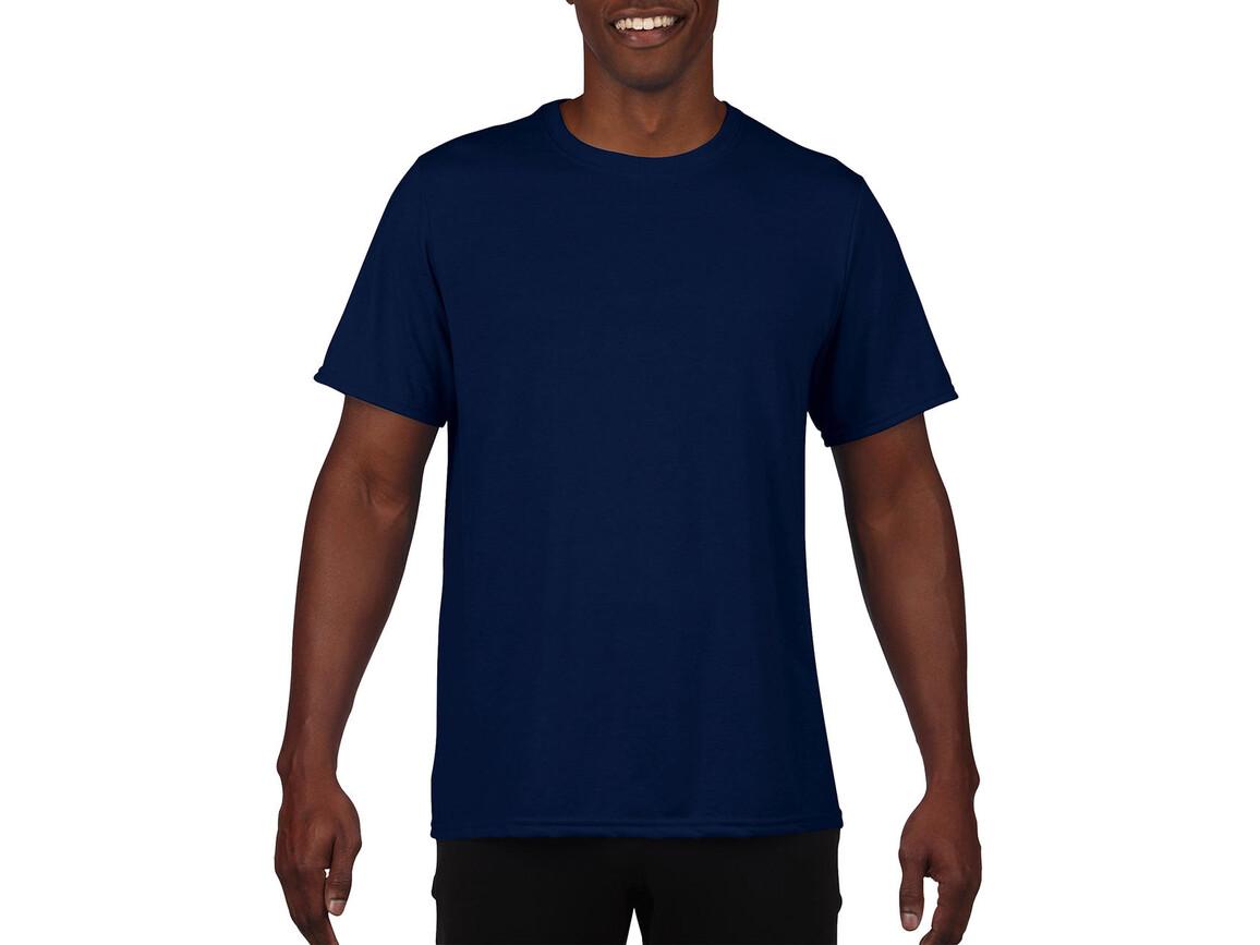 Gildan Performance Adult Core T-Shirt, Sport Dark Navy, L bedrucken, Art.-Nr. 011092035