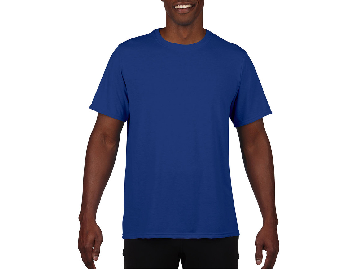 Gildan Performance Adult Core T-Shirt, Sport Royal, M bedrucken, Art.-Nr. 011093024