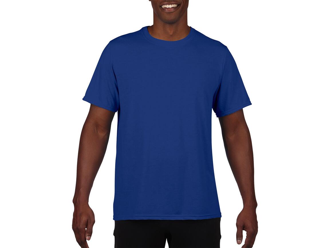 Gildan Performance Adult Core T-Shirt, Sport Royal, S bedrucken, Art.-Nr. 011093023