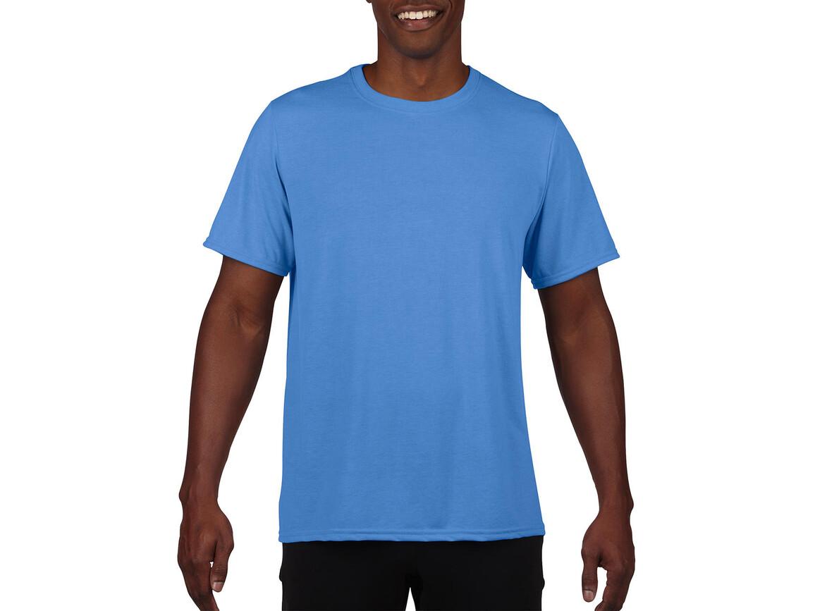 Gildan Performance Adult Core T-Shirt, Sport Light Blue, M bedrucken, Art.-Nr. 011093114