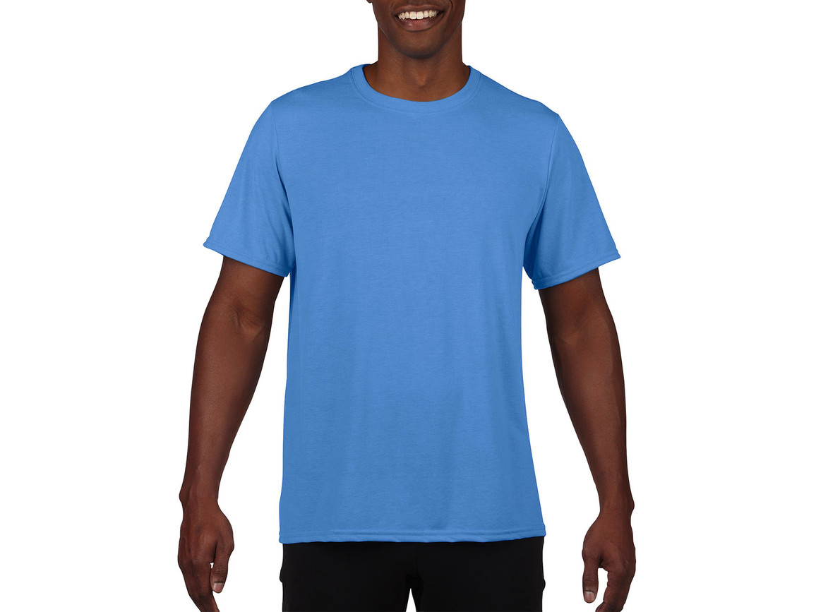 Gildan Performance Adult Core T-Shirt, Sport Light Blue, S bedrucken, Art.-Nr. 011093113