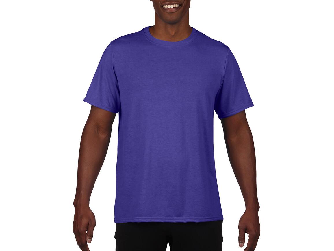 Gildan Performance Adult Core T-Shirt, Sport Purple, M bedrucken, Art.-Nr. 011093144