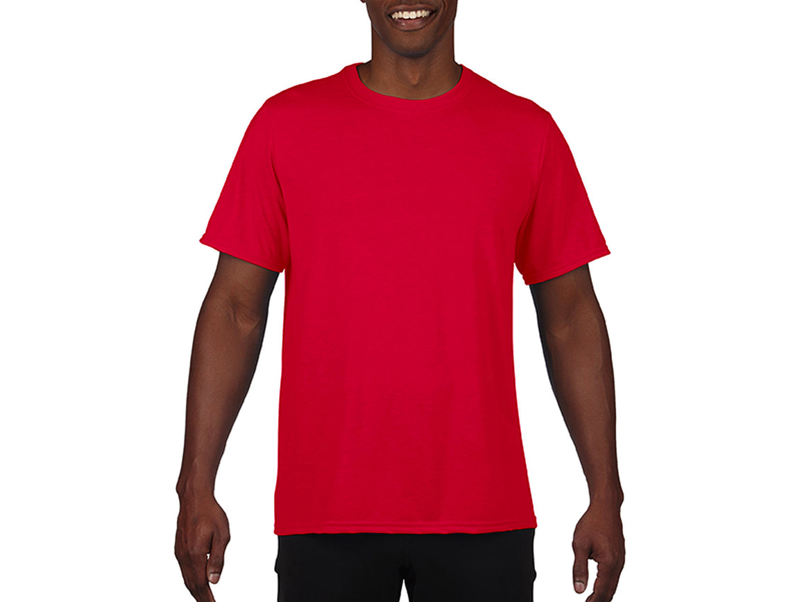 Gildan Performance Adult Core T-Shirt, Sport Scarlet Red, S bedrucken, Art.-Nr. 011094153