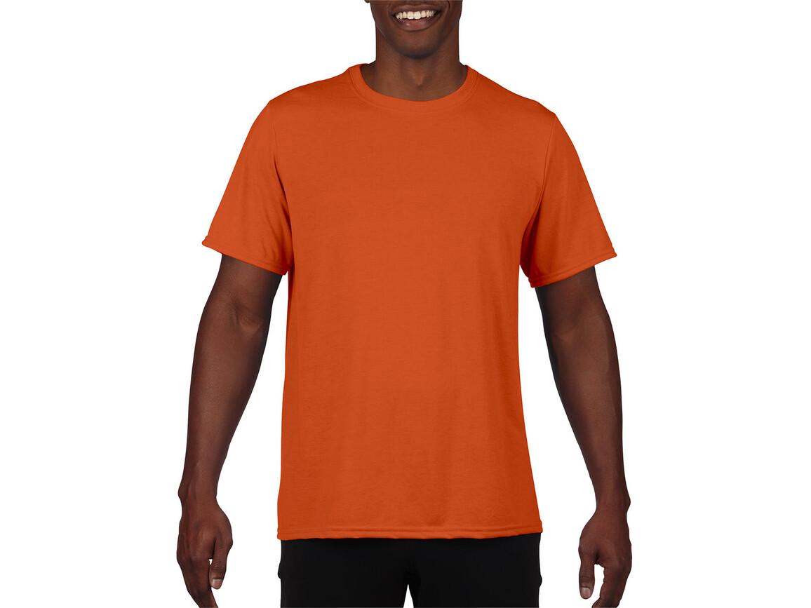 Gildan Performance Adult Core T-Shirt, Sport Orange, 2XL bedrucken, Art.-Nr. 011094167