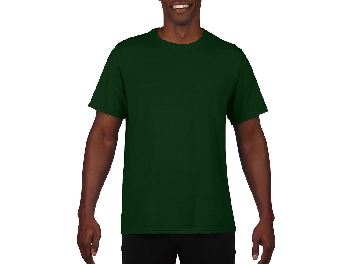 Gildan Performance Adult Core T-Shirt, Sport Dark Green, 2XL bedrucken, Art.-Nr. 011095087