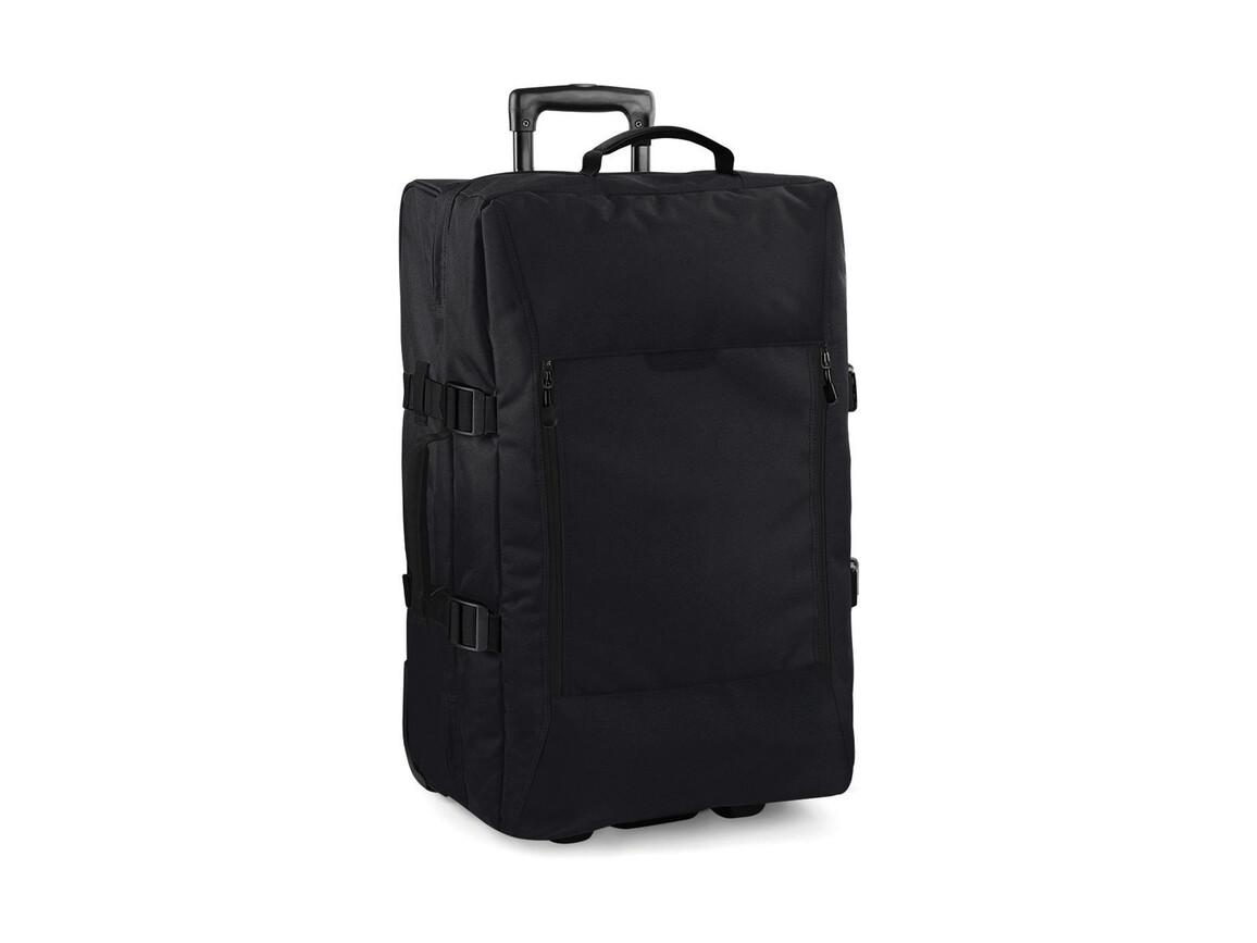 Bag Base Escape Dual-Layer Medium Wheelie, Black, One Size bedrucken, Art.-Nr. 011291010
