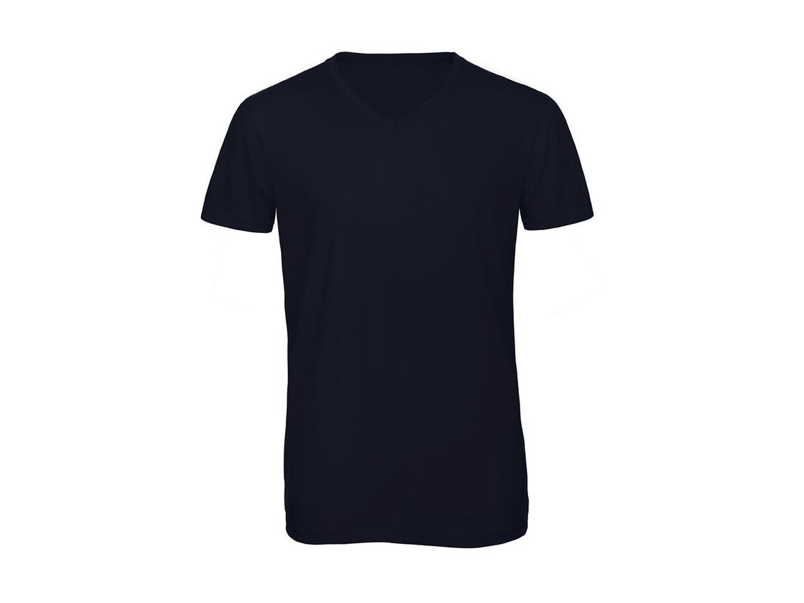 B & C V Triblend/men T-Shirt, Navy, 3XL bedrucken, Art.-Nr. 011422008