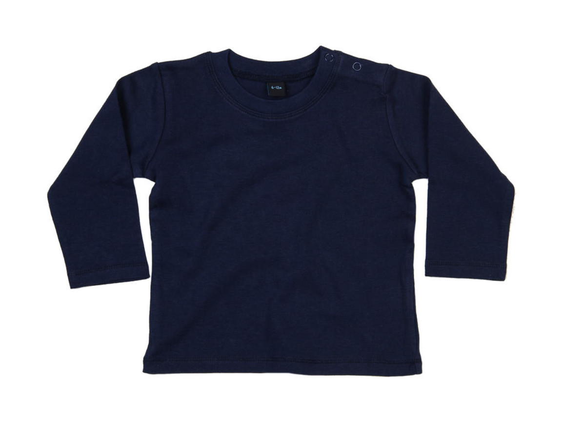 BabyBugz Baby Longsleeve Top, Nautical Navy, 6-12 bedrucken, Art.-Nr. 011472013