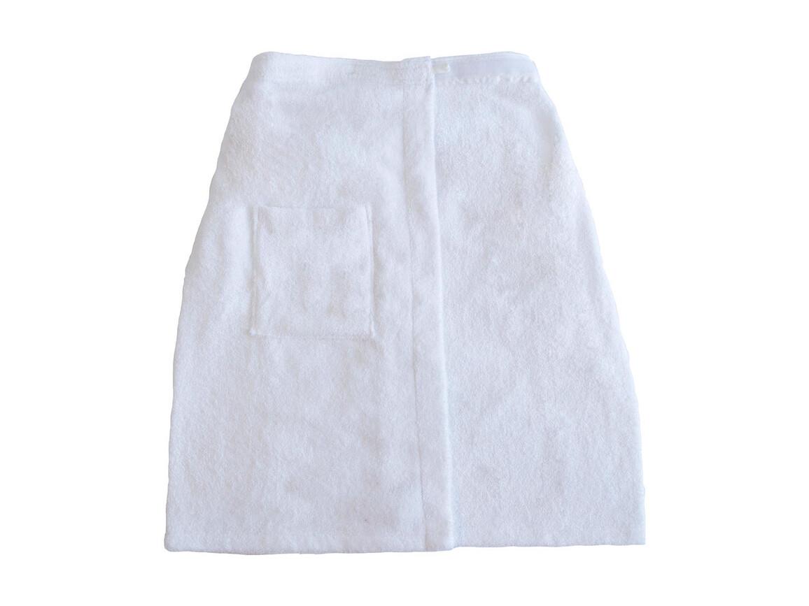 Jassz Towels Rhône Sauna Towel, White, L bedrucken, Art.-Nr. 011640005