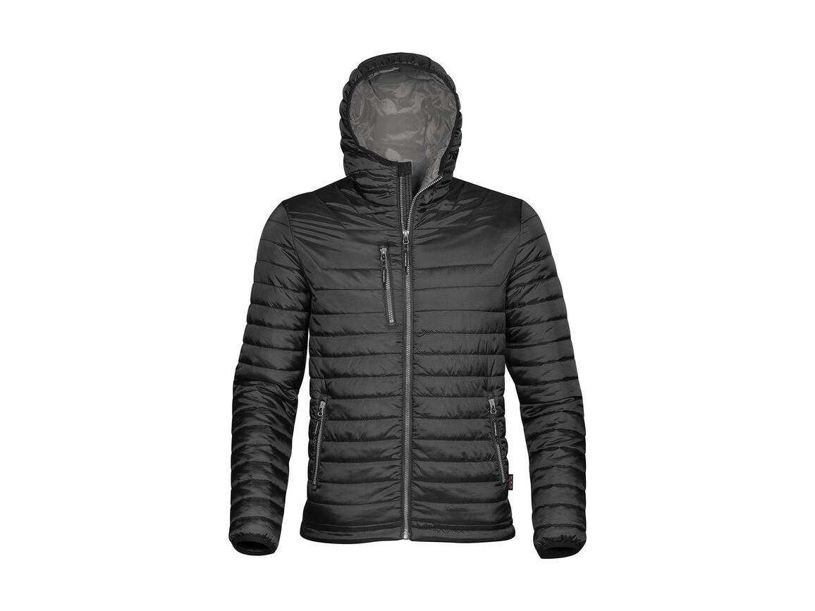 StormTech Gravity Thermal Jacket, Black/Charcoal, L bedrucken, Art.-Nr. 012181655