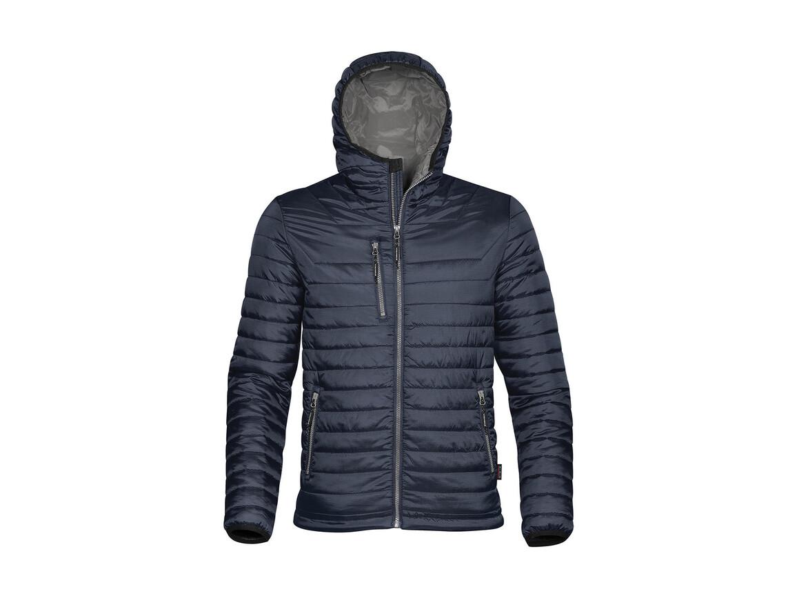 StormTech Gravity Thermal Jacket, Navy/Charcoal, L bedrucken, Art.-Nr. 012182645
