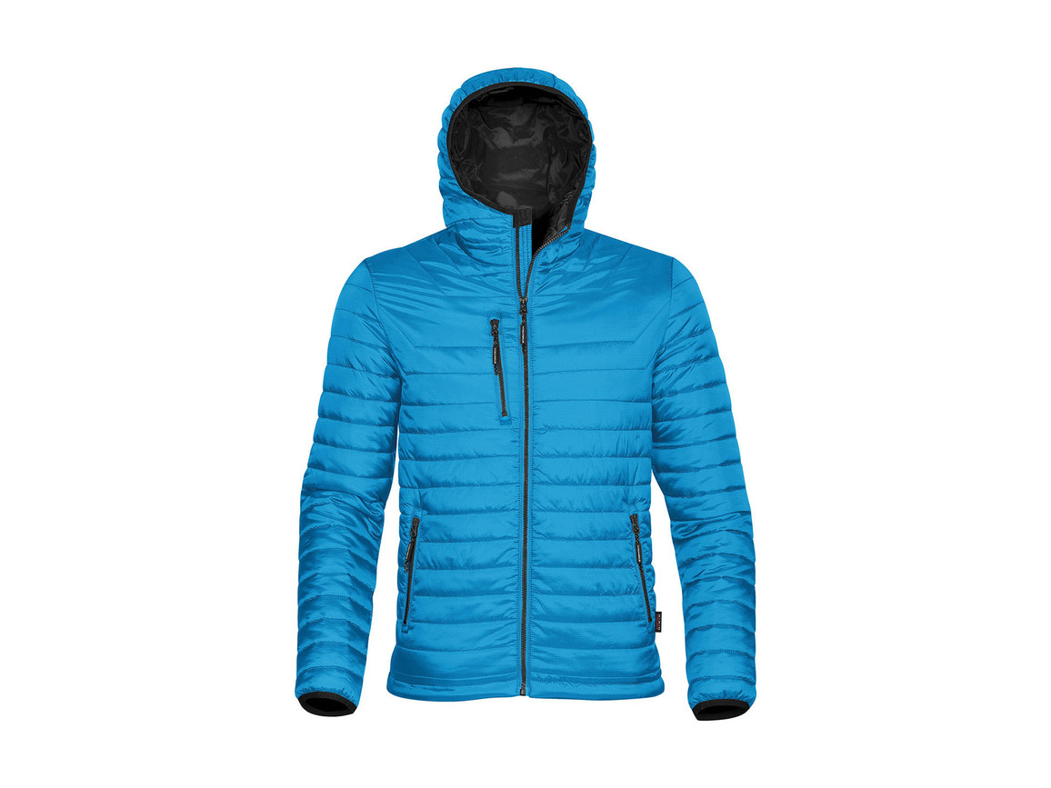 StormTech Gravity Thermal Jacket, Electric Blue/Black, 2XL bedrucken, Art.-Nr. 012183637