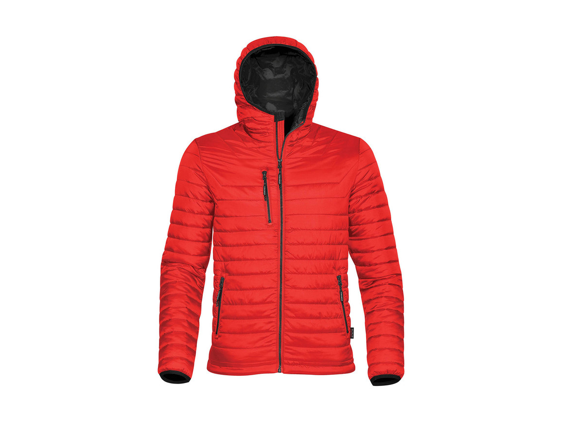 StormTech Gravity Thermal Jacket, True Red/Black, XL bedrucken, Art.-Nr. 012184576