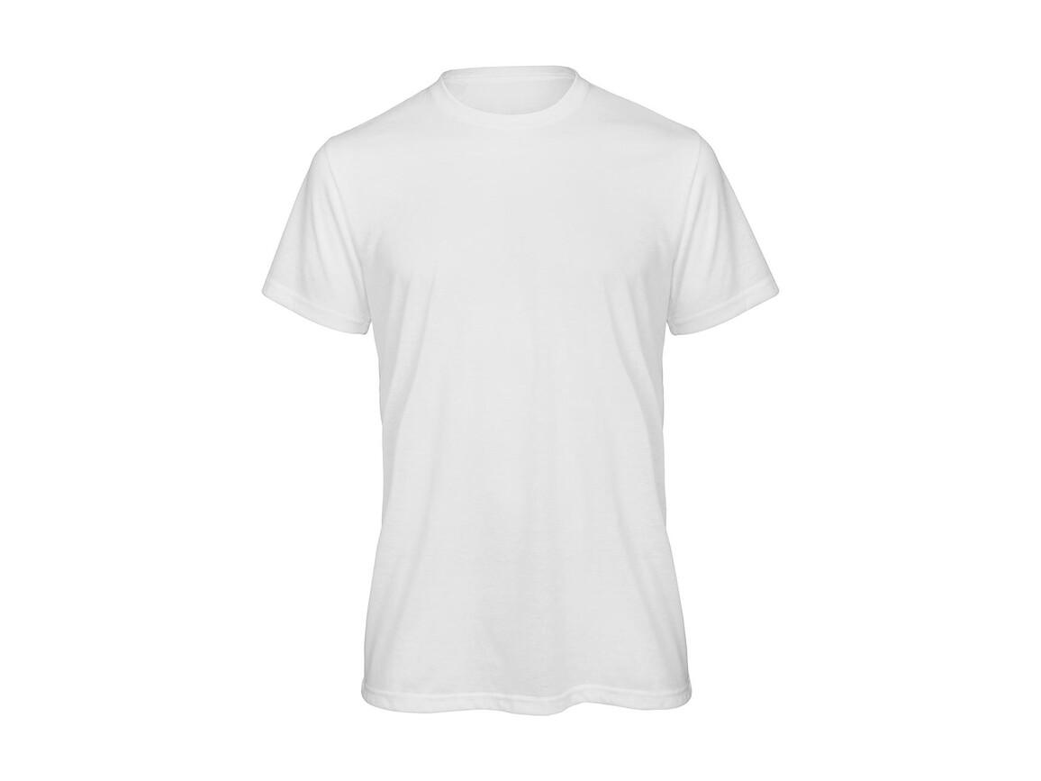 B & C Sublimation/men T-Shirt, White, L bedrucken, Art.-Nr. 013420005