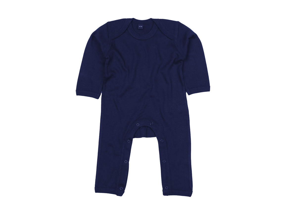 BabyBugz Baby Rompasuit, Nautical Navy, 12-18 bedrucken, Art.-Nr. 013472014
